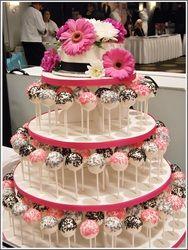 Cake Pop Tower Fun Unique Wedding Idea Wedding Ideas
