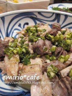 ナンプラーねぎ塩だれのせせりと砂肝フライパン焼きとり by エミリオ ...
