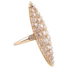 Old Cut Diamond Gold Ring