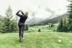 Perfekte Greens am Golfplatz in Lech am Arlberg