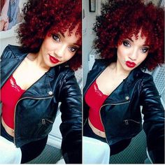 ***Try Hair Trigger Growth Elixir*** ========================= {Grow Lust Worthy Hair FASTER Naturally with Hair Trigger} ========================= Go To: www.HairTriggerr.com =========================       Gorgeous Red Hot Curly Fro!!!