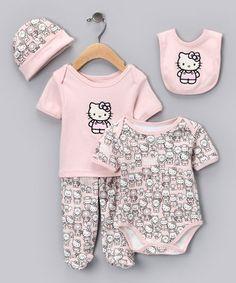 Girls' Clothing (newborn-5t) Humor Nwt New Boutique Laura Dare 9m 9 Months Pink Zebra Pajamas Jade White