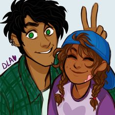 Big brother Percy and little sister Piper AU by: cindersart