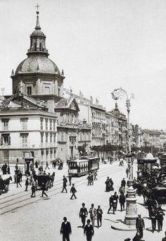 Iglesia de las Calatravas (1895)  MADRID
