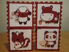 Cute Valentines animal cards