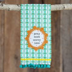 Our crochet hand towels will make your kitchen just a little bit brighter!