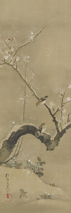Hoitsu.Cat_.46l-Birds-and-Flowers-of-the-Twelve-Months-Feinberg-Collection.jpg (1487×4435)