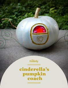 Even without a Fairy Godmother, you can still transform an ordinary pumpkin into an elegant coach! This Cinderella Pumpkin Coach craft is the perfect Disney Princess DIY for Halloween or any time of year.