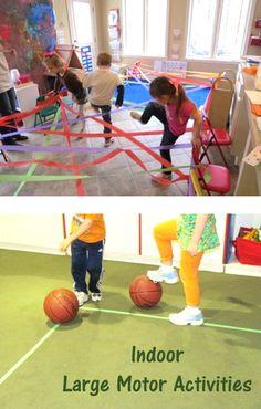 indoor large motor activities for kids