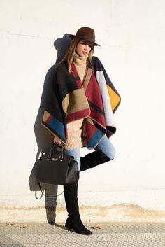 Ms Treinta - Fashion blogger - Blog de moda y tendencias by Alba.: Capa-Manta
