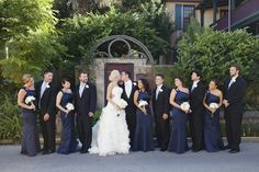 Southern Etiquette: Mixing Navy and Black? « Southern Weddings Magazine