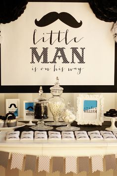 JoJo Boo Designs: A Little Man Baby Shower