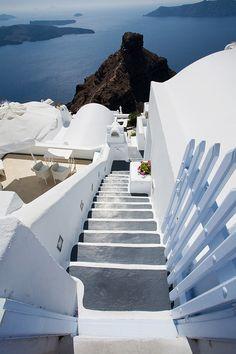 .~Skaros Rock, Imerovigli, Santorini~.