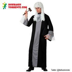 Disfraz de Juez letrado. Un disfraz de Juez elegante, pero no te fies, seguro que en las fiestas imparte poca ley y orden! ;)