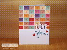 Micaela Ferrero | Tarjeta de San Valentín LoveYou | http://micaelaferrero.com
