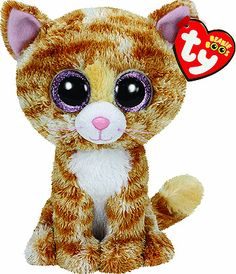 Tabitha Beanie Boo Cat - TY. I have her in the 9 inch version. My back walkover cat. Thank you Al Haske Wojktowiak