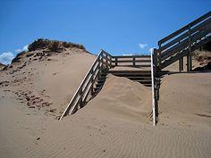 Prince Edward Island Pei Canada, Red Sand Beach, Take The Stairs, Prince Edward Island, Anne Of Green Gables, New Brunswick, Rise Above, Canada Travel, Nova Scotia