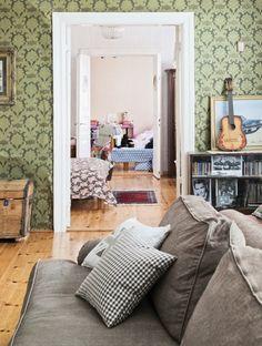 150-vuotiaan talon olohuone | Unelmien Talo&Koti  Kuvat: Juho Huttunen Toimittaja: Anna Pirkkola