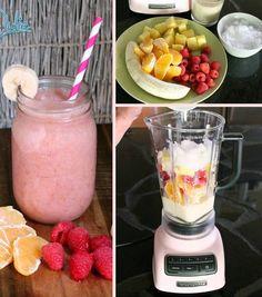 Recipes-Fitness | Energy Fruit Smoothie