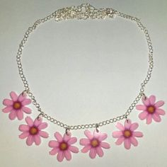 Hey, I found this really awesome Etsy listing at https://www.etsy.com/uk/listing/209465426/pink-flower-daisy-chain-summer-festival