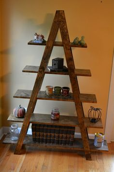Apex Bookshelf. My first piece was similar to this and I found enjoyment in returning to my roots. This is part of the Donner home series; Apex, being the highest point - simple beginnings often mean so much.