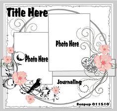 Sketch 011510 - Scrapbook.com