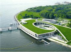 Aerial of the Marina Barrage; Photo Courtesy of PUB, Singapore's National Water Agency - I like how accessible it is.
