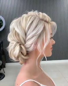 #hair #hairstyles #frenchfishtail #fishtail #braidstyles #braidlooks #braids #updos #updo #bridalhair #platinumblonde #platinumhair #video #hairvideo #pressay #pinterest #allmodernhair #fallbrides #bohobrides #romantic