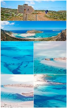 Revealing the beauty of Ballos #beach #Chania #Crete http://www.rooms-2-let.com/hotels.php?id=273