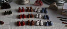 My hand made clogs in incredibly soft and thin real leather in three different designs