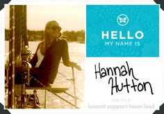 Meet Honest Support Team Lead, Hannah Hutton!