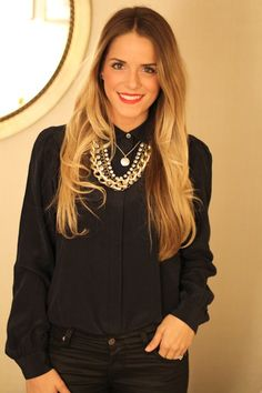 Blond ombre hair! Want!