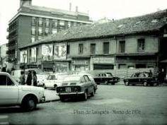 Plaza de Lavapiés de Madrid. Marzo de 1976.