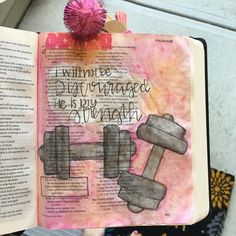 Bible Journaling by @aspiritembraced_kassy