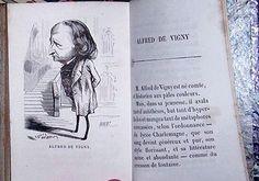 Nadar caricature Alfred de vigny