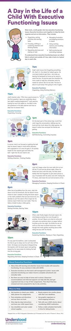 A Day in the Life of a Child With Executive Functioning Issues