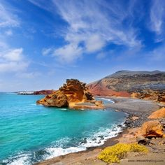 Lanzarote Canary Island in the Atlantic Ocean