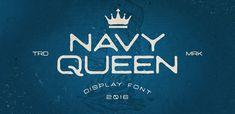 Navy Queen FREE Font 2016