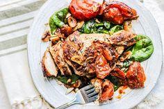 Balsamic garlic chicken. You've LOVE this recipe!