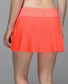 Lululemon Pleat To Street Skirt $68.00Grapefruit ~