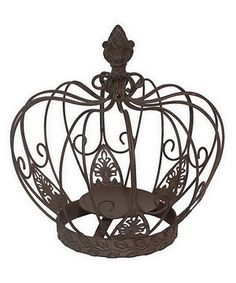 Loving this Crown Candleholder on #zulily! #zulilyfinds