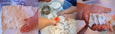 cloud dough recipe for sensory play