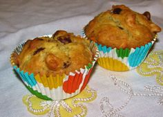 Peanut Butter Banana and Chocolate Chip Muffins