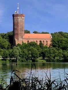 Człuchów   Krzyżacka forteca Konrada Wallenroda