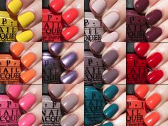 OPI Spring/Summer 2014 Brazil Collection