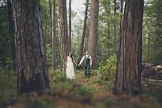 The Etsy Blog's Handmade weddings: Amongst the Trees.  Gorgeous wedding.