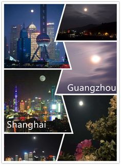 The bright moon with the pictures from my friends on 27 Sept.. The left pictures are from Shanghai. The right ones are taken by my husband, Tiger in the beautiful village now we are living.  I asked my friends in different cities to watch the moon and send the pictures at 8:00pm in WeChat. Finally, received a lot of pictures with the round and bright moon! Really warm in my heart while I am far away from my old parents.  Wish every family in the world be happy in 2015! In 2015, Guangzhou, Far Away, Shanghai, Cities, Parents, Husband, Moon, Bright