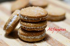 Alfajores from Argentina- Dulche de Leche Sandwich Cookies Cookies so #soft and #crumbly , #dulch_de_leche so #delicious that I found it hard to stop myself from #licking it. But the combination of both i.e.#Alfajores #sandwich #cookies were just awesome. Made for #bloggingmarathon #megamarathon #eggless #baking #cornflourcookies Recipe at: www.annapurnaz.in