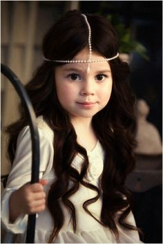 Rosalie, the princess of Bonador and Ellen's best friend. She's about sixteen years old in the story, but this is a very accurate picture of her even though it's too young.