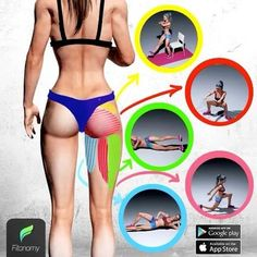 When it comes to training and being healthy Fitonomy is the most advanced fitness app, Fitness Workouts, Easy Workouts, At Home Workouts, Fitness Hacks, Butt Workouts, Body Fitness, Fitness Goals, Fitness Fun, Personal Fitness